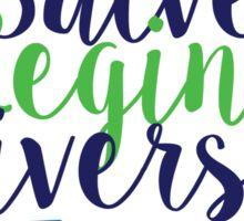Salve Regina University Sticker