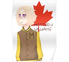 Matthew Williams-Highschool outfit  Poster