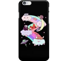 Rainbow Clouds and Animals iPhone Case/Skin