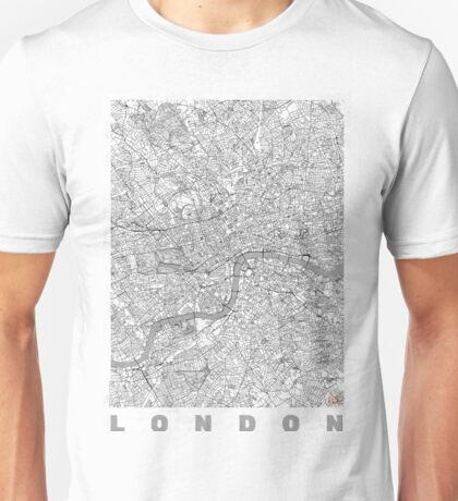 London Map Line Unisex T-Shirt