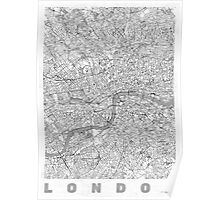 London Map Line Poster