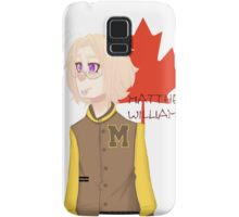 Matthew Williams-Highschool outfit  Samsung Galaxy Case/Skin