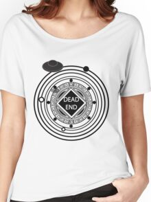 Intergalactic Road Sign (Dark) Women's Relaxed Fit T-Shirt