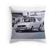'The Sweeney' Ford Granada 3.0 Ghia Throw Pillow