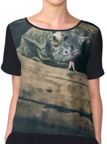 Komodo Dragon  Chiffon Top