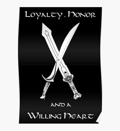 Thorin Oakenshield : Loyalty  -white- Poster