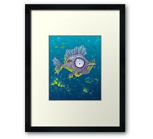 Zombie Fish Framed Print