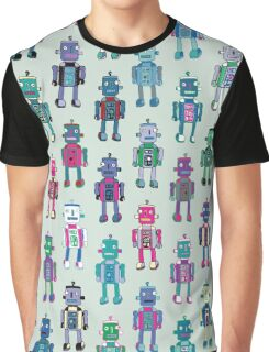GoggleBots - robot pattern Graphic T-Shirt