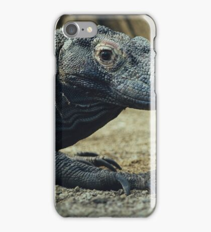 Komodo Dragon Portrait iPhone Case/Skin