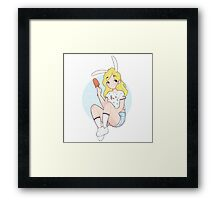 Adventure Time - Fionna Framed Print