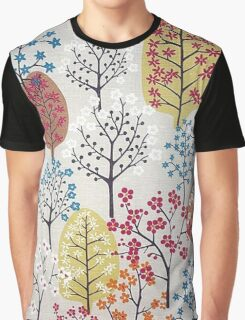 Colourful Forest Graphic T-Shirt
