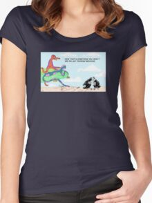 TOURISM BROCHURE Women's Fitted Scoop T-Shirt