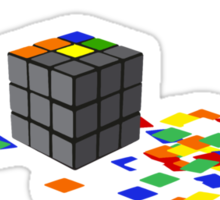 How to solve the Rubik's Cube Sticker