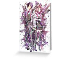 The Asterisk War [Julis & Ayato] Greeting Card