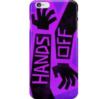 Gravity Falls hands off iPhone Case/Skin