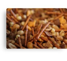 Chex Party Mix Canvas Print