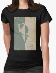 Twilight Princess Womens Fitted T-Shirt
