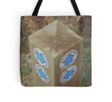 walk signpost Tote Bag