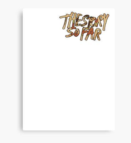 TSSF stick to your guns album cover logo Canvas Print