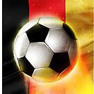 Brazil fifa football world cup 2014, Germany flag by mikath