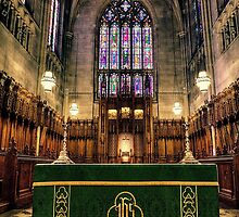The Alter at Duke Chapel by Kadwell