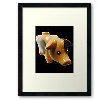 The Pig! Framed Print