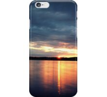 Abendrot am Steinberger See iPhone Case/Skin