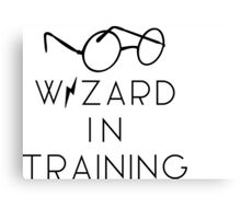 wizard in trainiNg Canvas Print