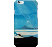 """Shining Down Like Water"" - Taranaki iPhone Case/Skin"