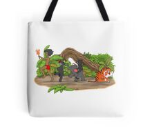Red Flower March Tote Bag