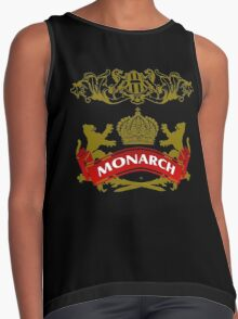 The Monarch Coat-of-Arms Contrast Tank