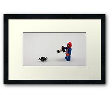Selfie Framed Print