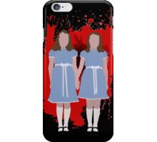 Shining Twins iPhone Case/Skin