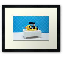 Rubber Ducky Framed Print