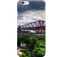 The Bridge under Cloudy Skies iPhone Case/Skin