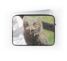 Baby screech owl Laptop Sleeve