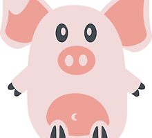 Cute Pig by ilovecotton