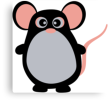 Sweet Mouse Canvas Print