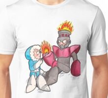 Ice Man and Fire Man Unisex T-Shirt