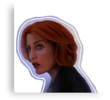 Foggy Scully Canvas Print