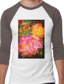 Rose 266 Men's Baseball ¾ T-Shirt