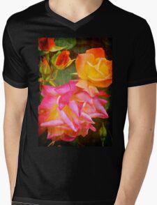 Rose 266 Mens V-Neck T-Shirt