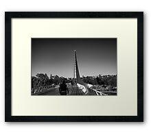 The Sundial Bridge Framed Print