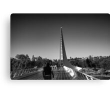 The Sundial Bridge Canvas Print