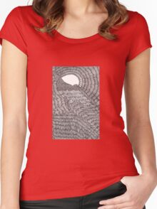 An Overflowed Mind Women's Fitted Scoop T-Shirt