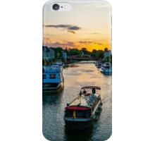 Packet Boat on the Erie Canal iPhone Case/Skin
