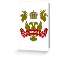 The Grandmaster Coat-of-Arms Greeting Card