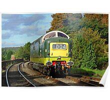 D9009 'Alycidon', Severn Valley Railway Poster