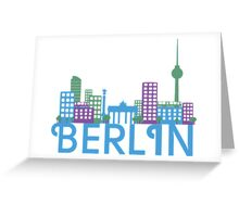 Skyline Berlin Greeting Card