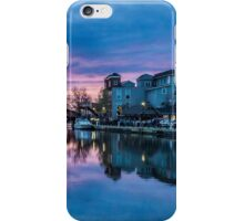 Colorful Sunset in Fairport, NY iPhone Case/Skin